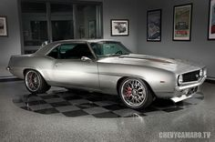 Cool Chevrolet 2017: Silver Chevrolet Camaro - 1967 -this is beast... Beauties!