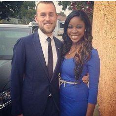 Beautiful interracial couple #love #wmbw #bwwm #swirl