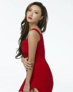Red on Hyejin make her charisma shine even more ♥♥ K Pop, South Korean Girls, Korean Girl Groups, Rapper, Chloe Kim, Red Aesthetic, Beautiful Asian Girls, Kpop Girls, Queen