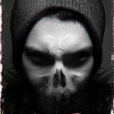 soufiane idrassi on Behance Gothic Vampire, Dark Gothic, Gothic Art, Skull Tattoo Design, Tattoo Designs, Evil Demons, Horror, Book Cover Art, Makeup Tools