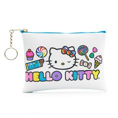 Dylan's Candy Bar Hello Kitty Cosmetic Case - White | Dylan's Candy Bar