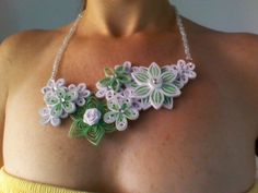 1.................. Quilling necklace