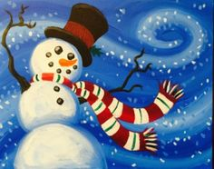 I am going to paint Snowy Breeze at Pinot's Palette - Broken Arrow to discover my inner artist!