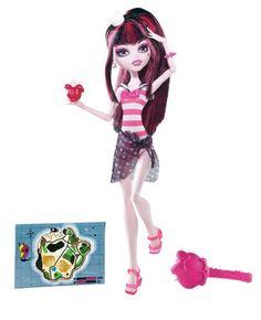 Monster High Skull Shores Draculaura Doll $21.99