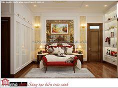 Mẫu nội thất phòng ngủ đẹp Ngôi Nhà Xinh. Hình 3