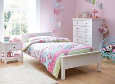 Hutchin White Single Wooden Bed Frame | Dreams