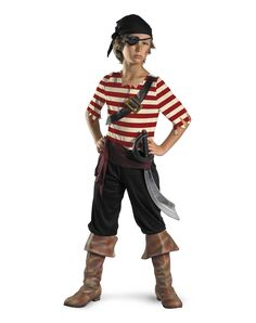 pirate costumes boy | Embark on a rogue's adventure in this spirited Black Jack Pirate boys ...