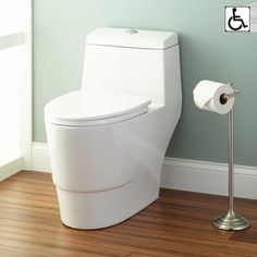 Algorithm One-Piece Elongated Toilet - ADA Compliant - LOVE - Easy to clean on sides