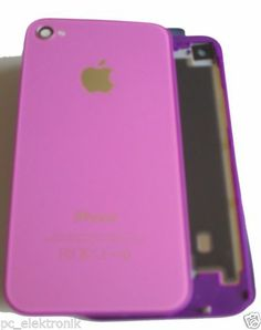iPhone Backcover 4 in 5C Farben, inkl.Werkzeug,Violett, Deutscher Händler TOP Angebot 11,11€