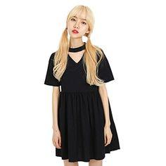 We-buys Women's Harajuk Hollow V-neck Sweet Girl's Short…