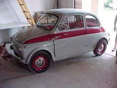 Fiat 500 Sport (1958-1960) a really rare type
