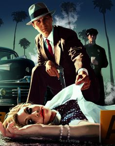 L.A Noire - This game was still amazing, both technologically and game play-wise. Next to Red Dead Redemption, probably my favorite outing by Rockstar.
