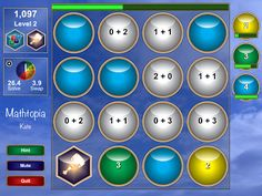 Math Apps - Math Fact Fluency Made Fun with Mathtopia! It's like the game Candy Crush for math!!