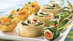Seafood Salad Tartlets | A simple, homemade seafood #salad becomes a special snack in just 15 minutes.