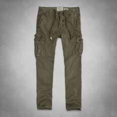 Mens A&F Cargo Pants | Mens Pants | Abercrombie.co.uk