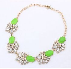 FASHION JEWELRY FLOWER STATEMENT NECKLACE LINK CHAIN SOLID BOHEMIAN CRYSTAL BIJOUTERIE WOMEN NECKLACE CURRENT 2014 Fashion Jewelry, Chain, Crystals, Bracelets, Link, Beautiful, Bangles, Arm Bracelets, Bracelet