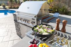 Harvest Grove BBQ Grill and Side Burner
