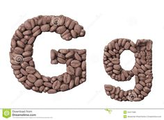 Image from http://thumbs.dreamstime.com/z/alphabet-coffee-beans-letter-g-coffee-design-isolated-white-background-34417589.jpg.