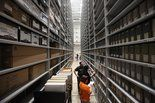 This summer, all 30,000 cubic feet of documents, photographs, government records, letters and diaries, as well as 100,000 volumes worth of books, serials and bound volumes are being moved to their new $8.7 million home, the Zhang Legacy Collections Center on Calhoun St. on the Oakland Drive campus.