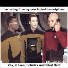 Hahaha. Star Trek humor
