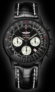 Breitling Navitimer Whatif - mens and womens watches, most popular mens watches, womens watch *ad Breitling Navitimer, Breitling Watches, Amazing Watches, Beautiful Watches, Cool Watches, Black Watches, Patek Philippe, Dream Watches, Fine Watches