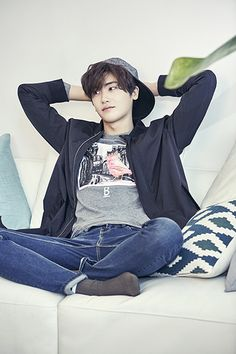Park Hyungsik Fashion for Brand BANG BANG F/W 2016