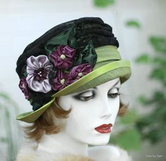 Hey, I found this really awesome Etsy listing at https://www.etsy.com/listing/212996889/edwardian-vintage-style-bucket-lace-hat