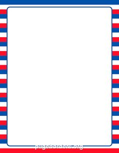 Printable Patriotic Striped Border. Use The Border In Microsoft Word Or  Other Programs For Creating. Page BordersDot PaintingVector ...