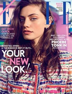 Phoebe Tonkin Covers by Beau Grealy for Elle Australia March 2015