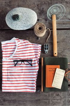 Essentials for going on an adventure. | Kinfolk Summer List