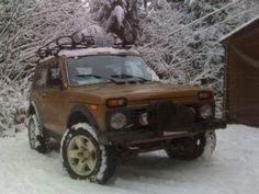 That's a whole Lada Niva for less than $6000.