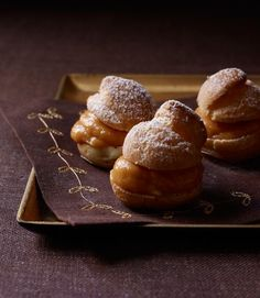 Cream Puffs with Pumpkin Pastry Cream - GoodHousekeeping.com