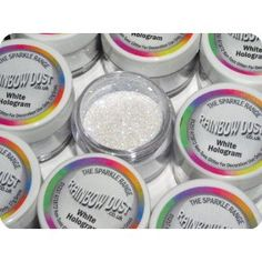 Rainbow dust edible glitter