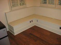 Kitchen Bench Seating with Storage | Bench Storage Seating Design Ideas, Pictures, Remodel, and Decor