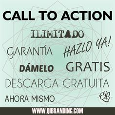 ¿Sabes qué es un call to action? http://blgs.co/uj9oI4