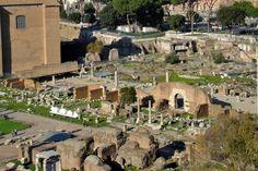Roman Forum | Remain of Basilica Aemilia, 179 BC. Rome, Roman Forum, Roman Architecture, Roman Art, In Ancient Times, Ancient Romans, Roman Empire, Beautiful World, Bucket