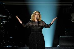 I love this dress that Adele wore.
