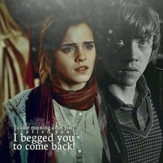 Ron and Hermiones Love