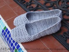 Home Shoes Crochet ... by SOPHIE AND ME | Crocheting Pattern