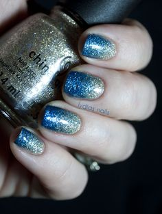 Lydia's Nails: China Glaze Glitter Gradient