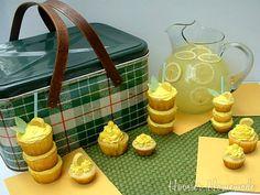 Lemonade Cupcakes; Summer Cupcakes