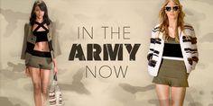 In the army now- ein Fashion Trend für den Sommer?