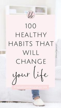 Healthy Lifestyle Habits, Healthy Habits, Healthy Tips, Healthy Snacks, Self Development Books, Personal Development, Morning Habits, Morning Routines, Self Motivation