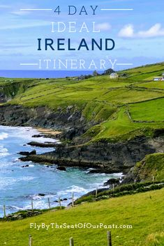 Make the Most of 4 Days in Ireland. This Ideal Ireland Itinerary highlights the best the country ha - Make the Most of 4 Days in Ireland. This Ideal Ireland Itinerary highlights the best the country has to offer. Republic with Eire Ireland Vacation, Ireland Travel, Cork Ireland, Dublin Ireland, Honeymoon Ireland, Dublin Travel, Italy Vacation, Ireland In March, Best Of Ireland