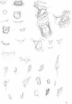 Dragon Ball--Additional Mouth and Ear Tutorial. #SonGokuKakarot