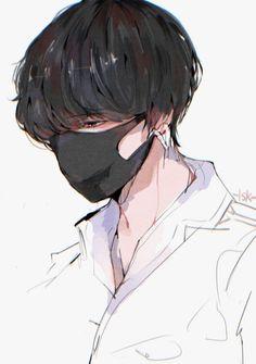 Artwork Bts V Anime Wallpaper Jungkook Fanart, Kpop Fanart, Bts Anime, Anime Oc, Fanarts Anime, Anime Angel, Dibujos Anime Chibi, Kpop Drawings, Handsome Anime