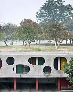 Il nuovo libro su Chandigarh, la città indiana di Le Corbusier, con le foto di Manuel Bougot