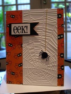 Another spider card