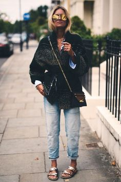 Fashion autumn street lookbook