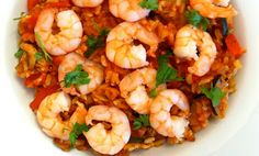 Yummy Healthy Kitchen: Wholesome & Hearty Prawn Paella from www.yummyhealthykitchen.com